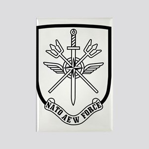 NATO-AEW-Force-Patch Rectangle Magnet